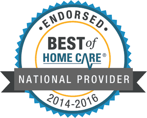Best of Home Care - Endorsed National Provider - 2014-2016