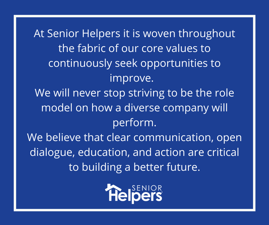 Senior Helpers Statement on Core Values