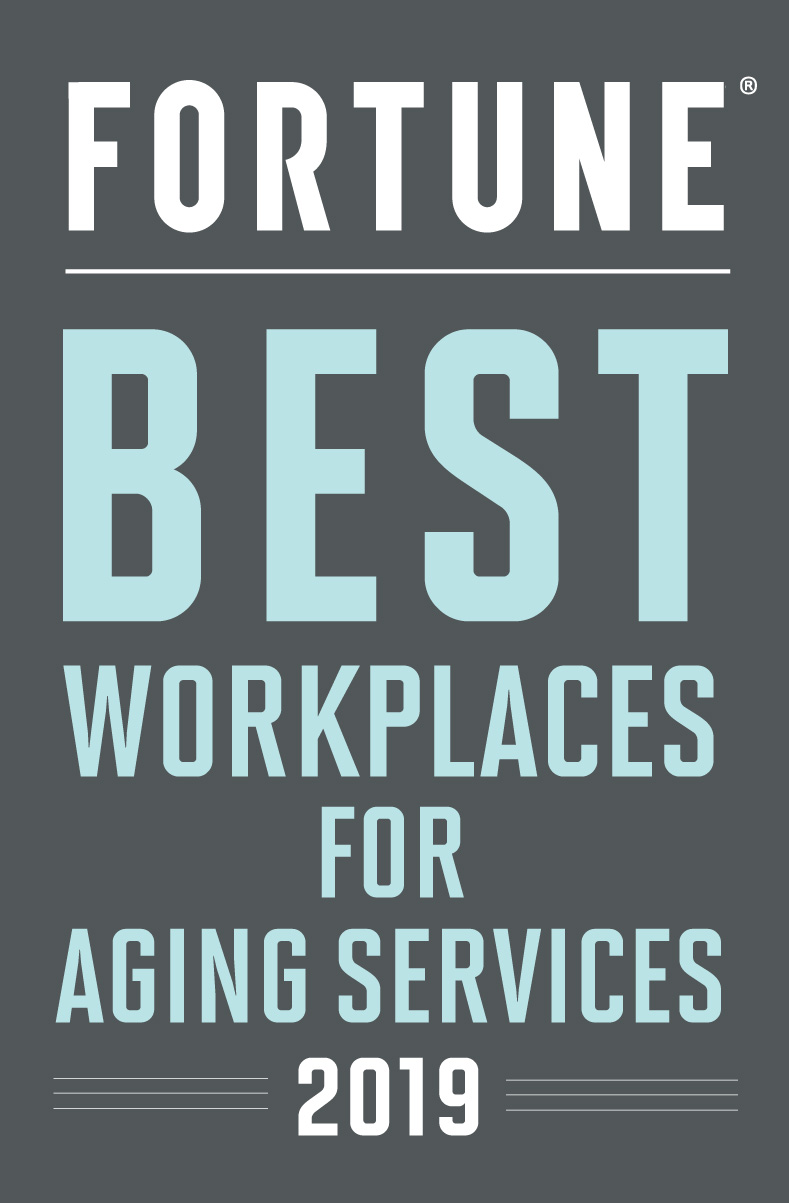 Fortune - Best Workplaces for Aging Services 2019