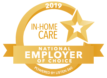 2019 National Employer of Choice - In-home care