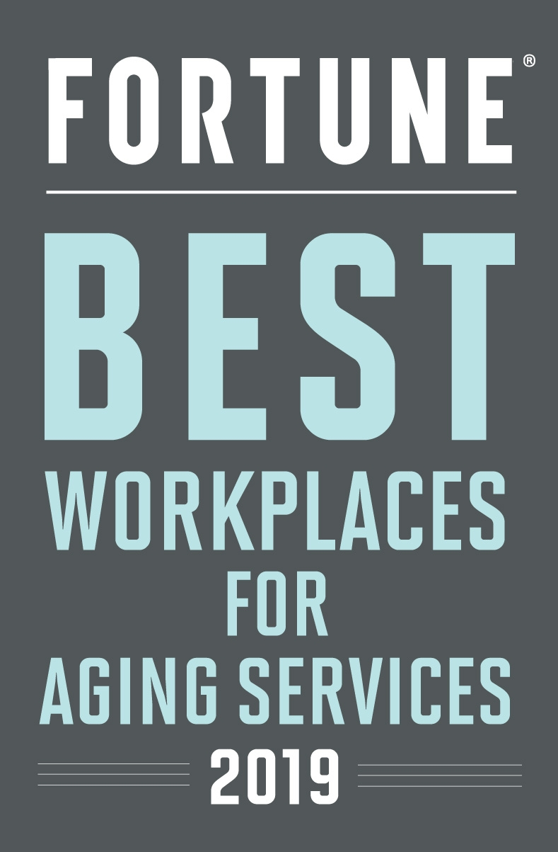Fortune Best Workplaces for Aging Services 2019