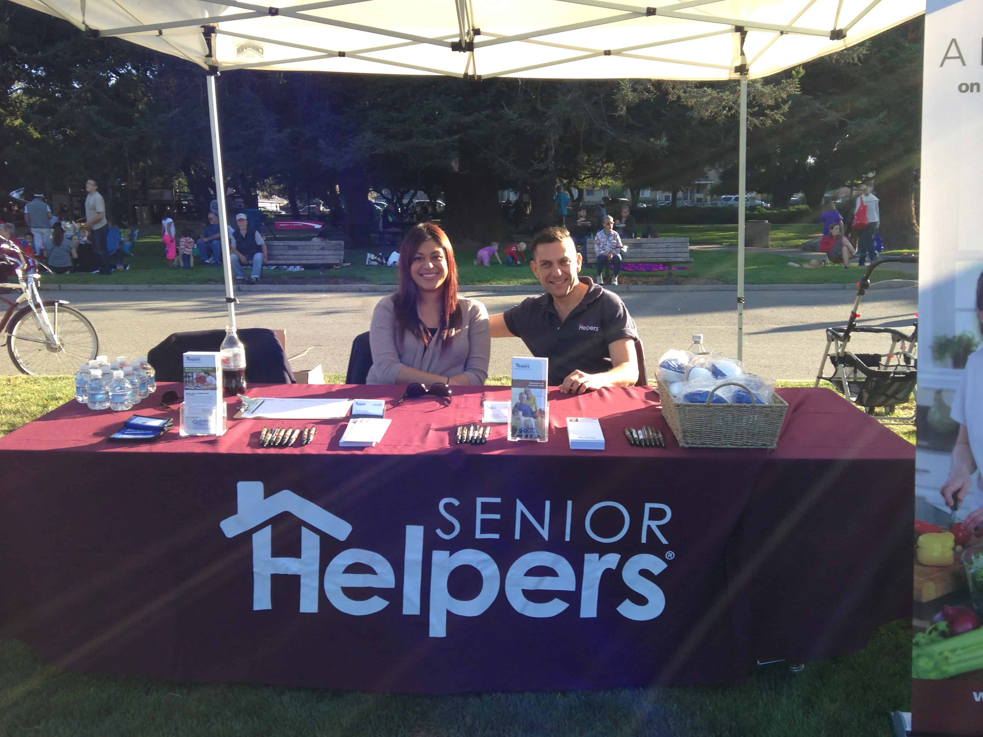 Senior Helpers sponsored the San Mateo Music Series Concert